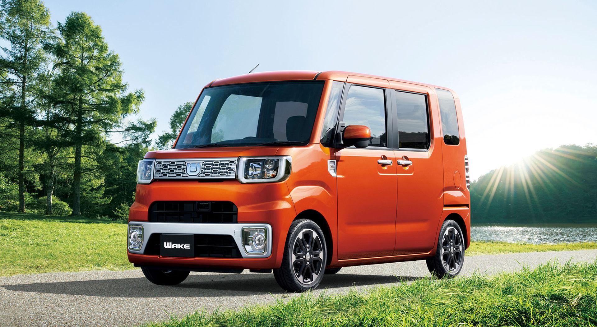 Annorlunda reklamfilmer för japansk kei car