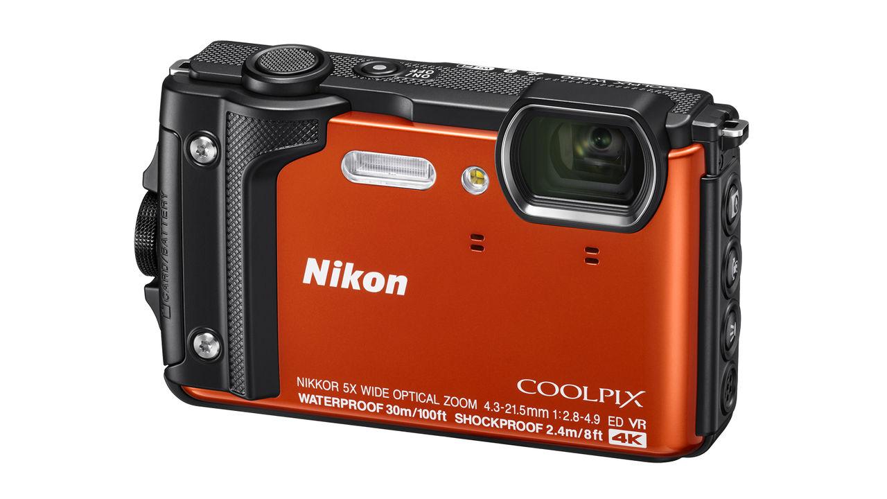 Vattentäta Coolpix W300 från Nikon filmar i 4K