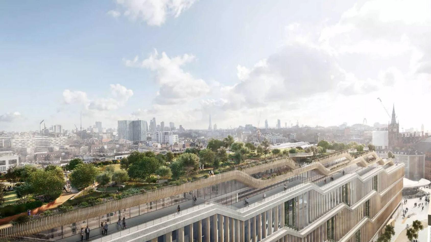 Google bygger nytt huvudkontor i London