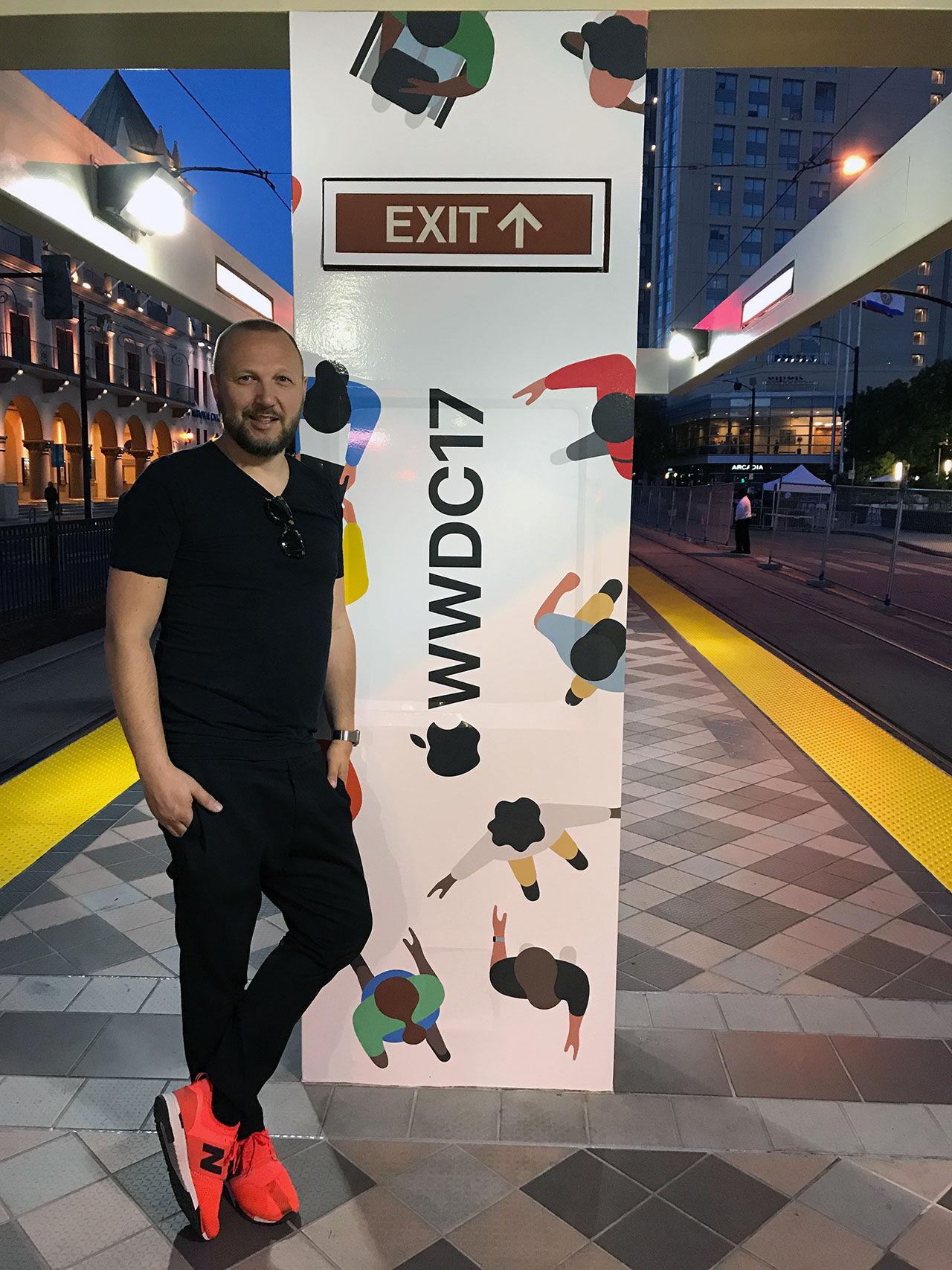 Nu är vi på plats på WWDC!