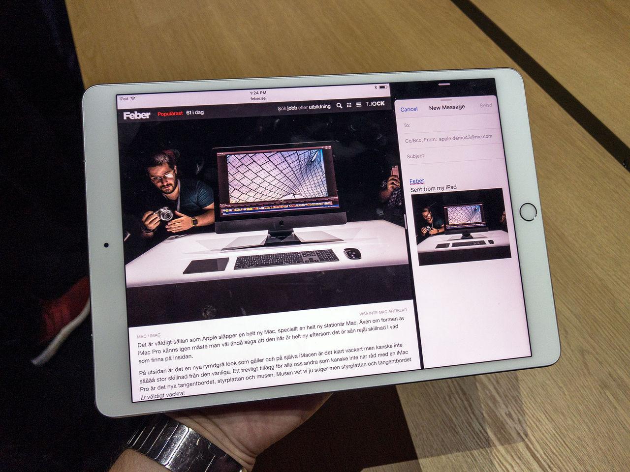 Vi har känt på nya iPad Pro