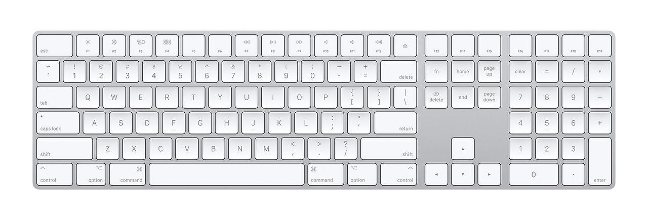 Apple släpper trådlöst numeriskt tangentbord