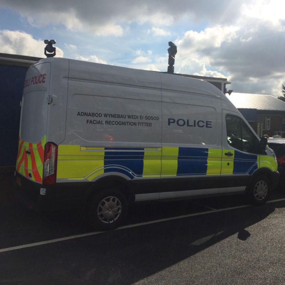 Polis grep man tack vare automatiskt ansiktsigenkänning