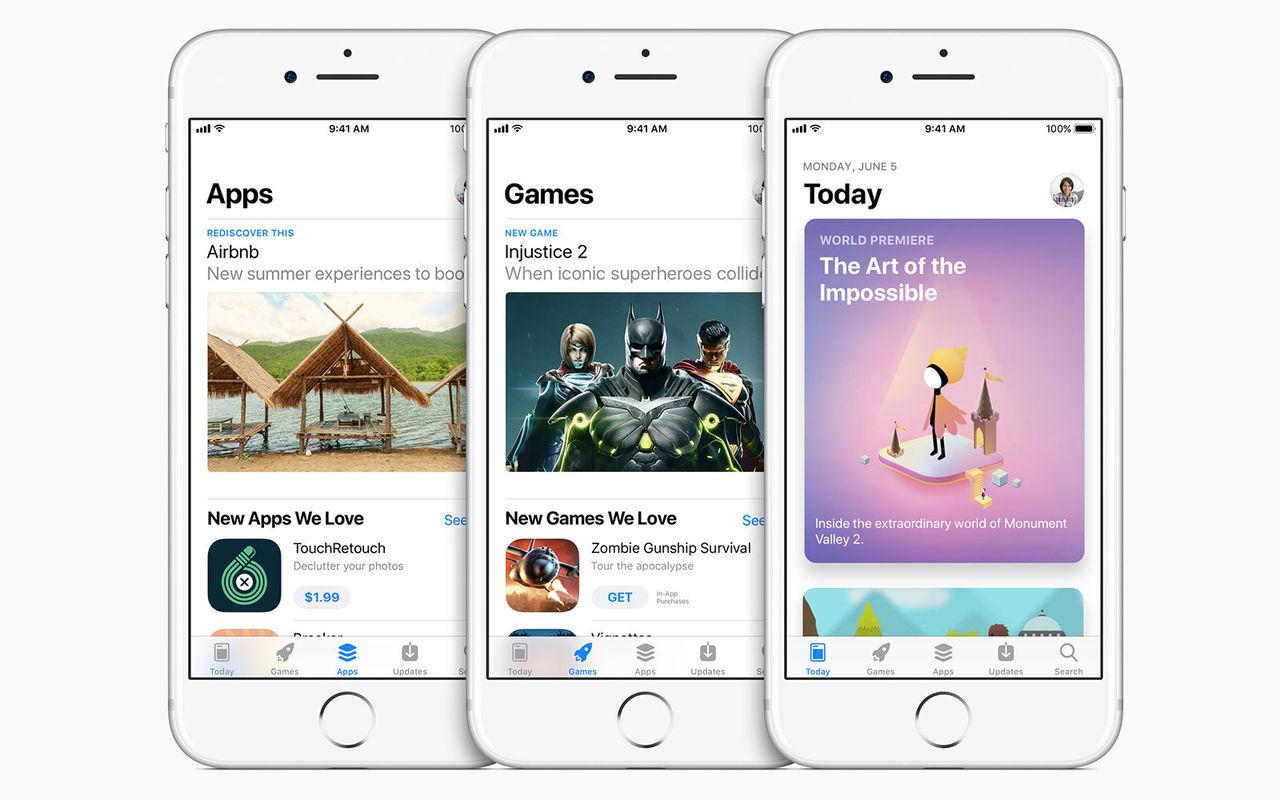 Ny design på App Store
