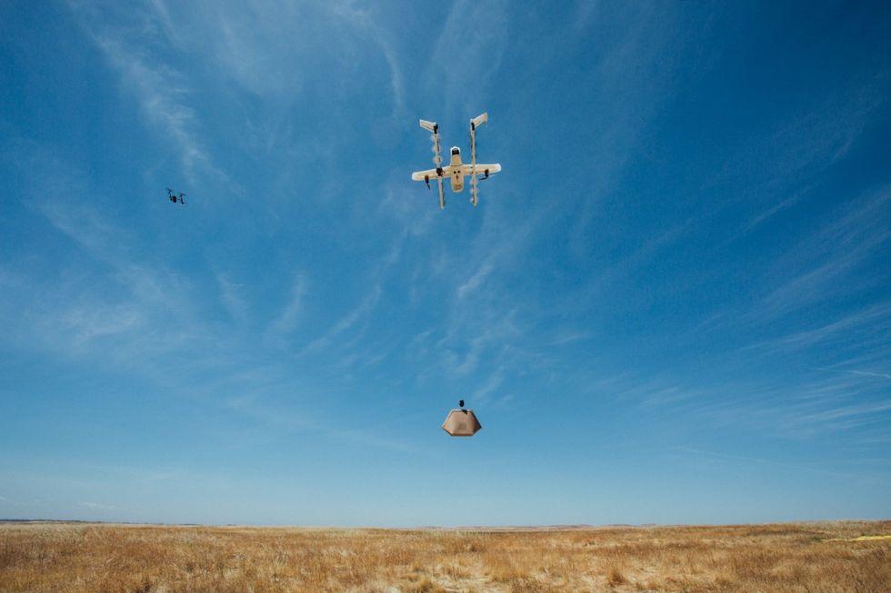 Project Wing har testat flygledarsystem för drönare