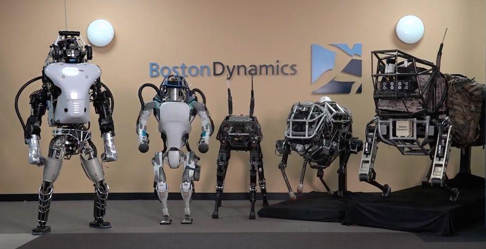 SoftBank köper Boston Dynamics