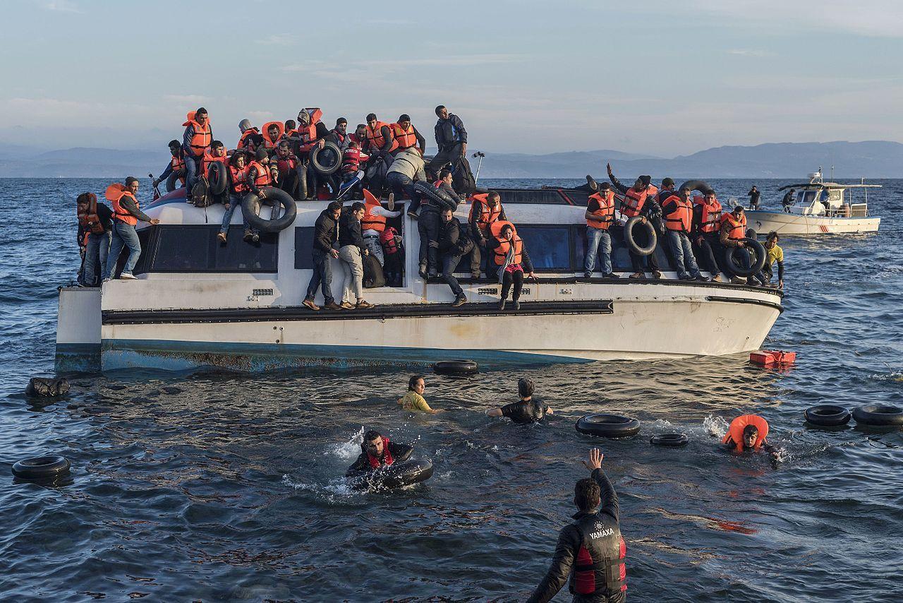 Flyktingström gick att följa via Google Trends