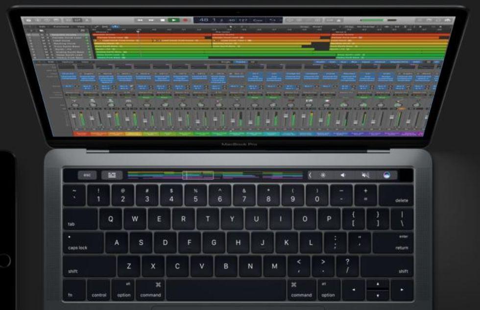 GarageBand får stöd för Touch Bar