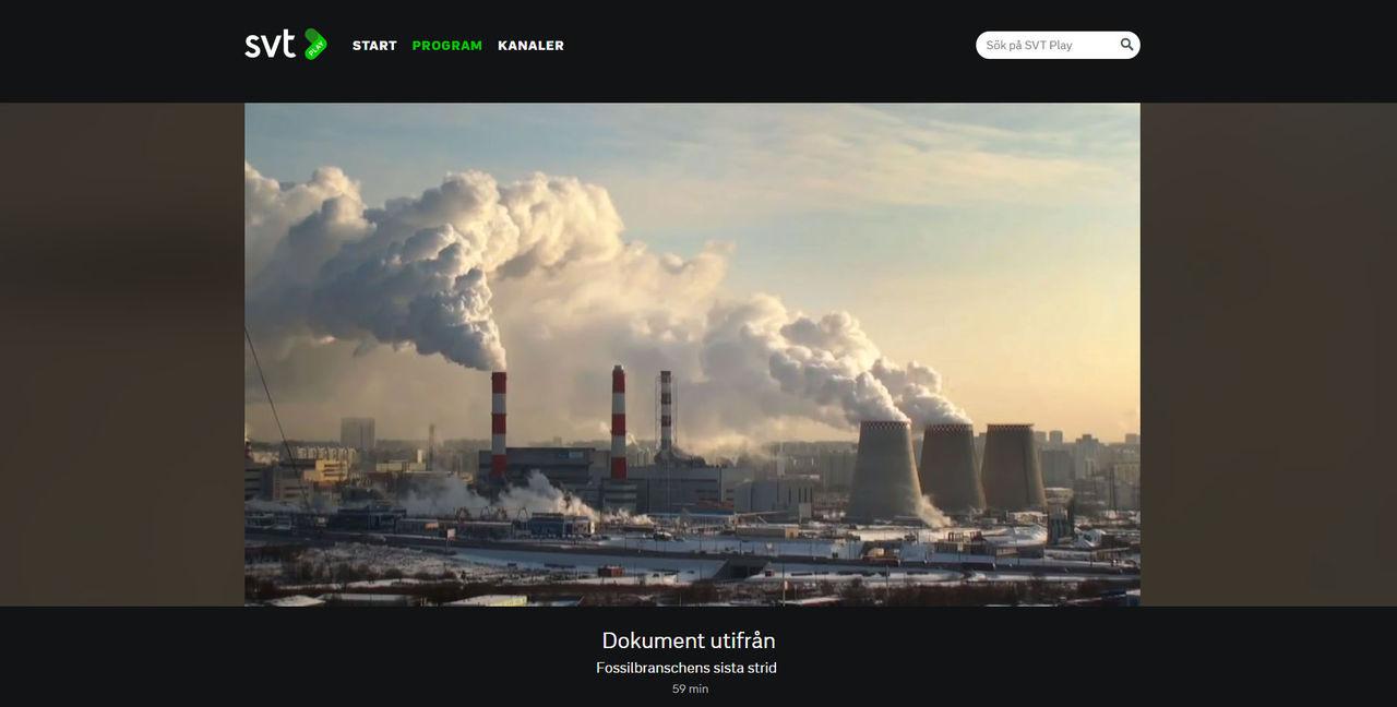 Trumps klimatpolitik analyseras i Dokument utifrån