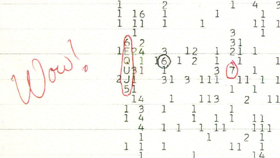 Låg en komet bakom Wow!-signalen?