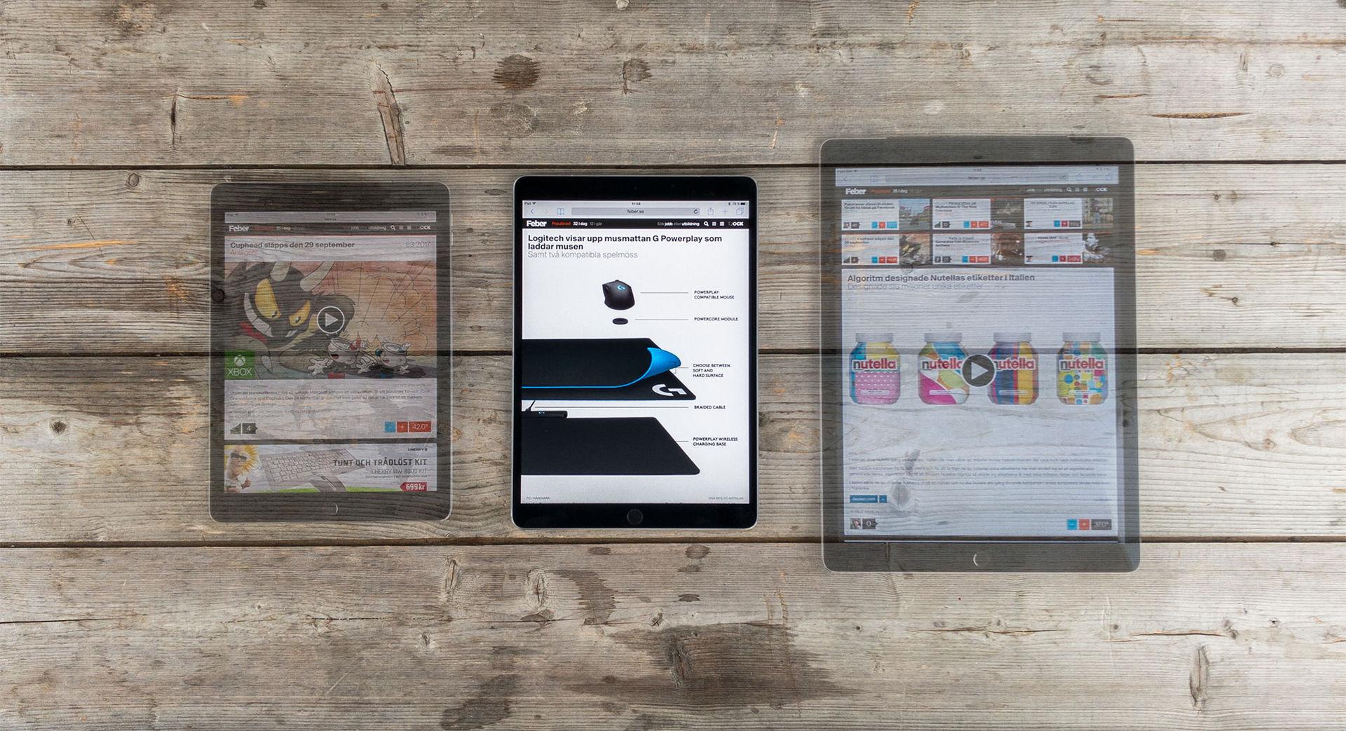 Vi har testat helt nya iPad Pro med 10,5 tums skärm