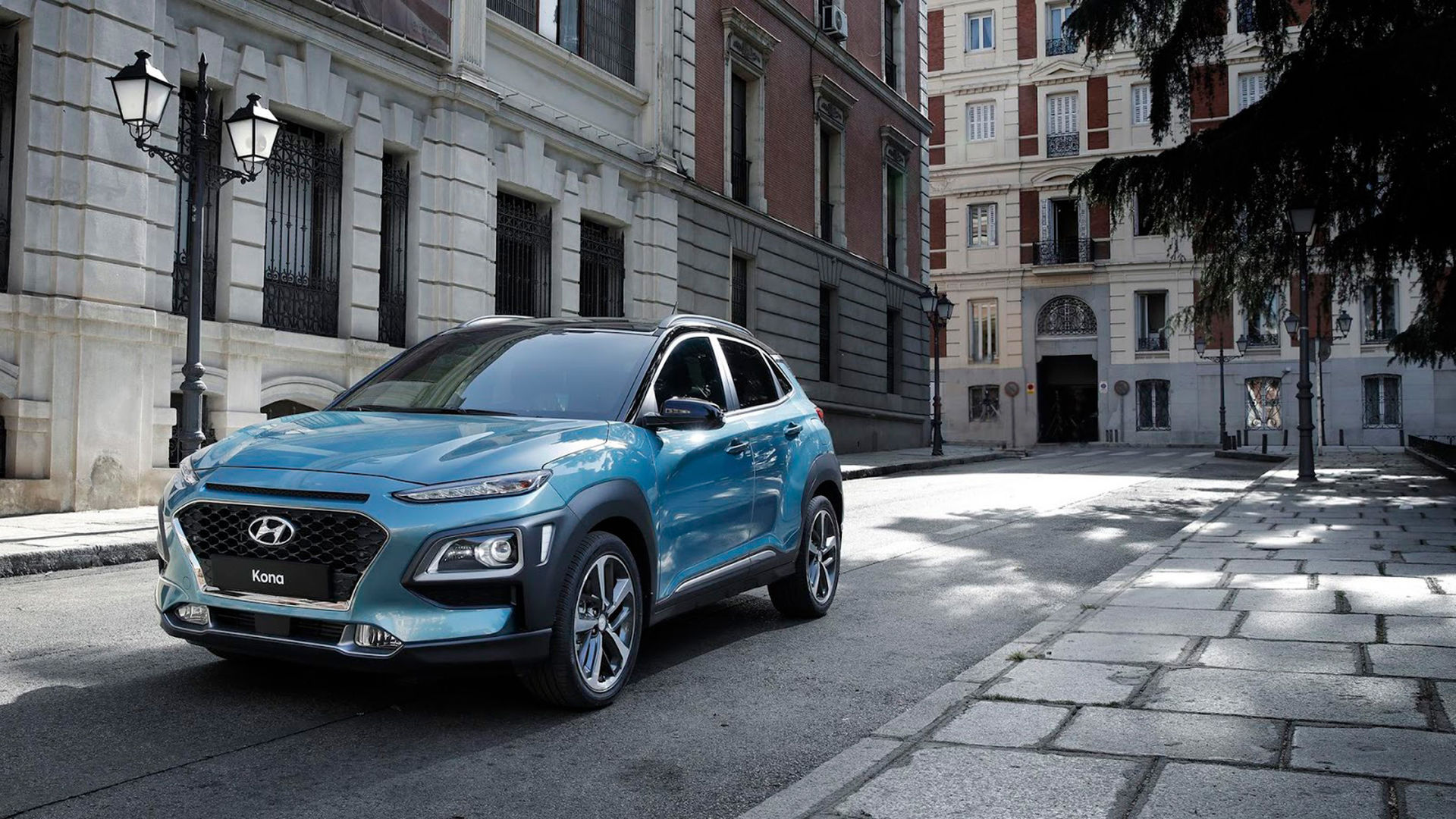 Hyundai visar den kompakta suven Kona