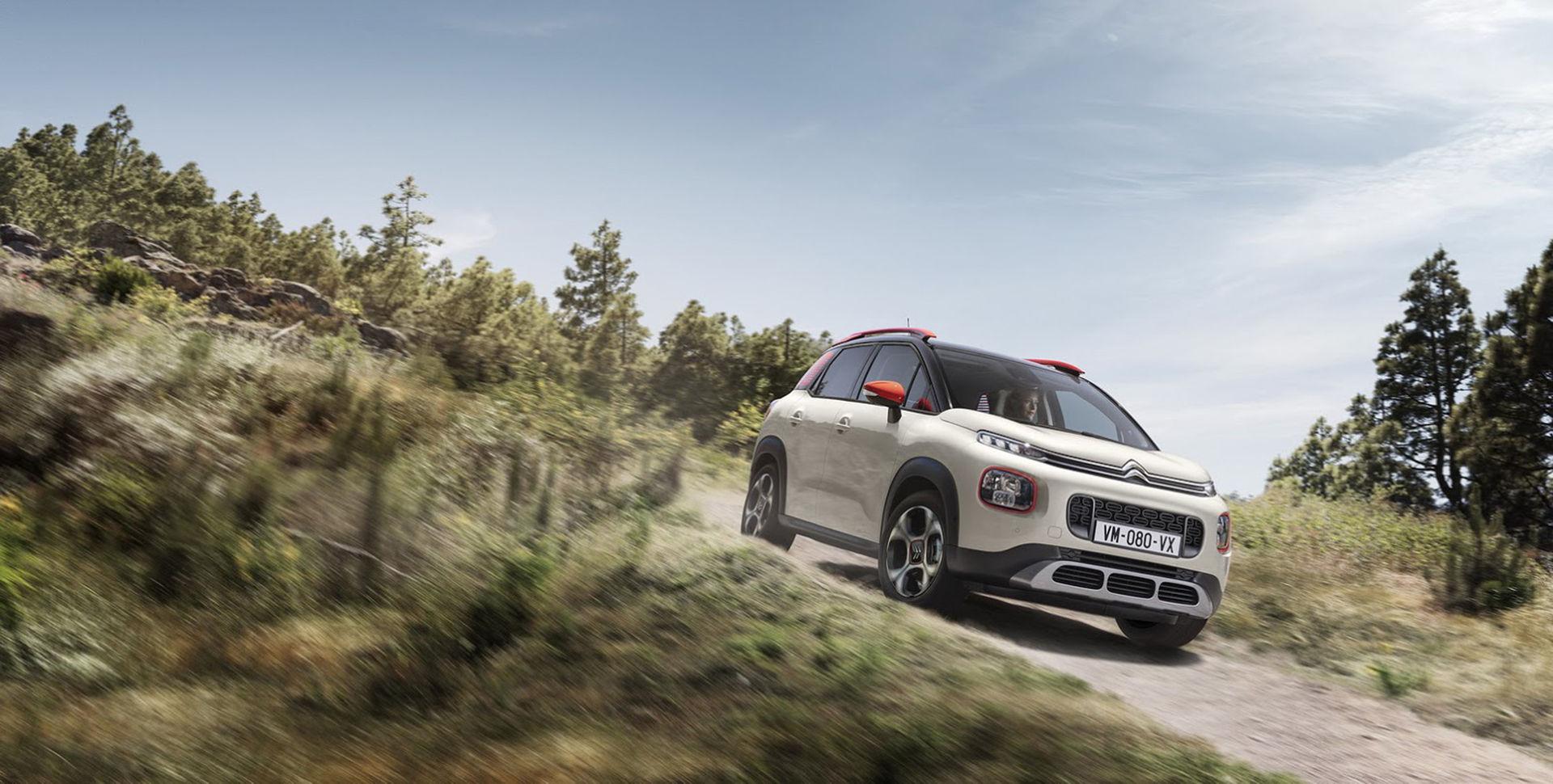 Citroën visar den kompakta suven C3 Aircross