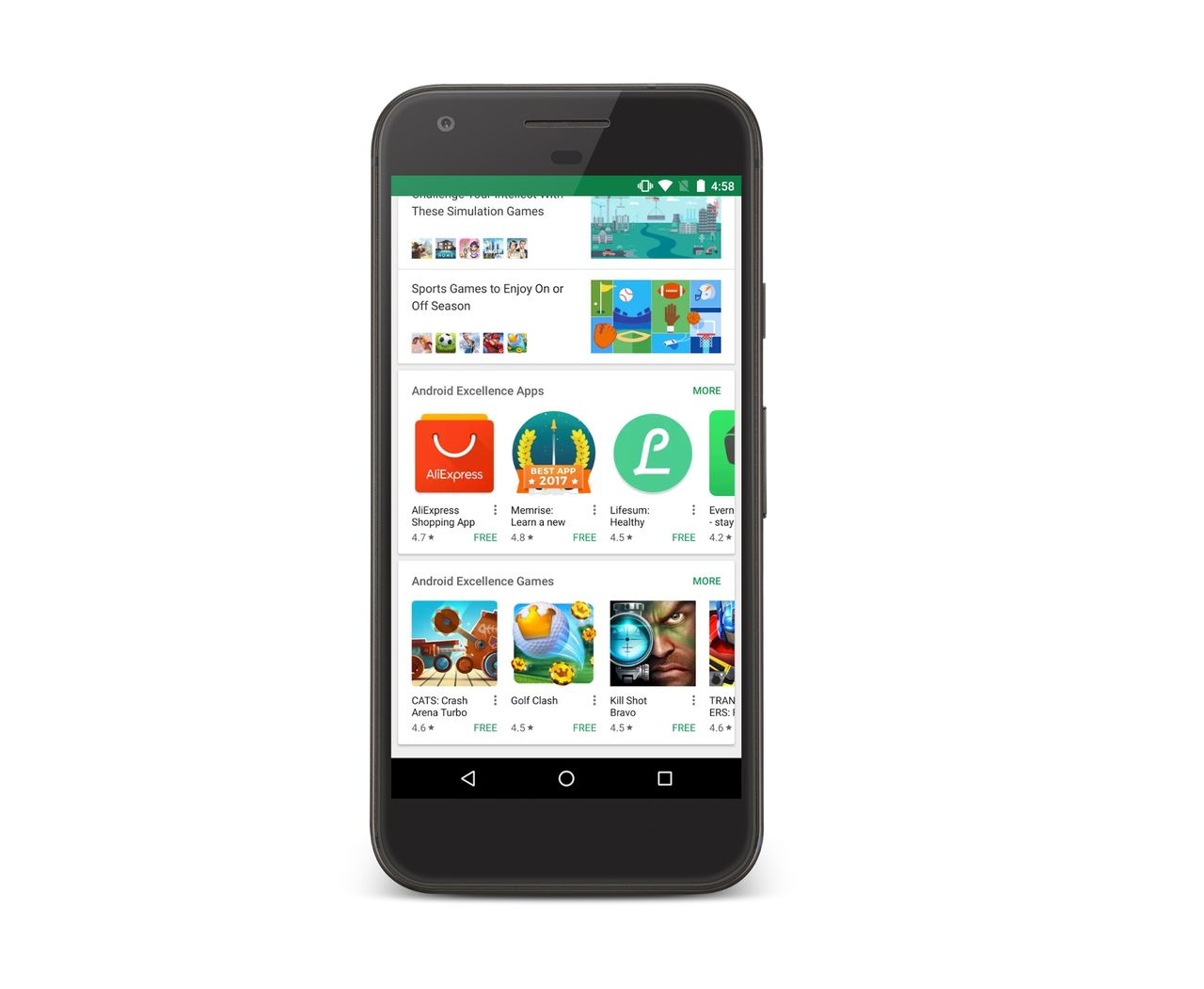 Google drar igång Android Excellence