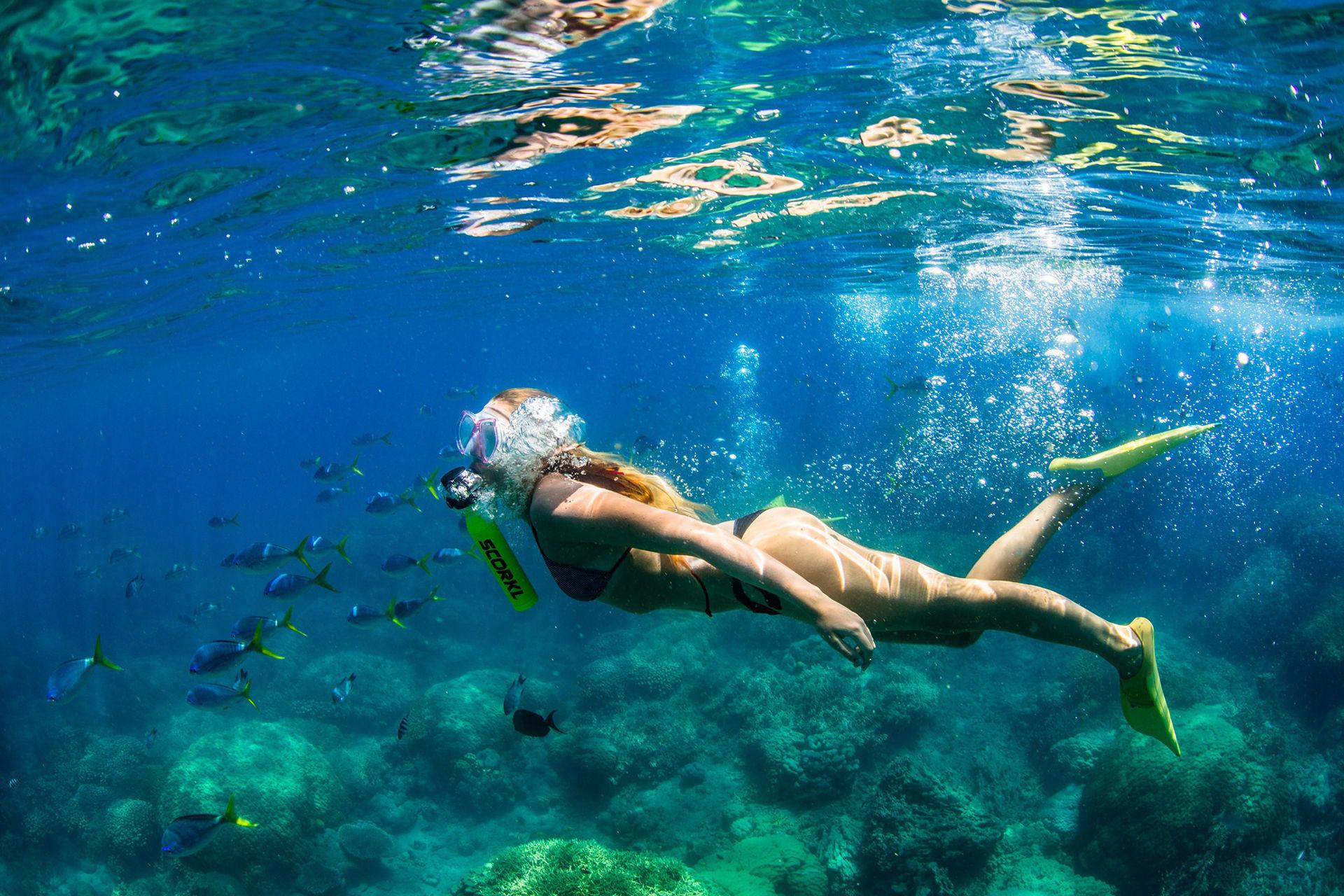 Stanna 10 minuter under vattnet med Scorkl