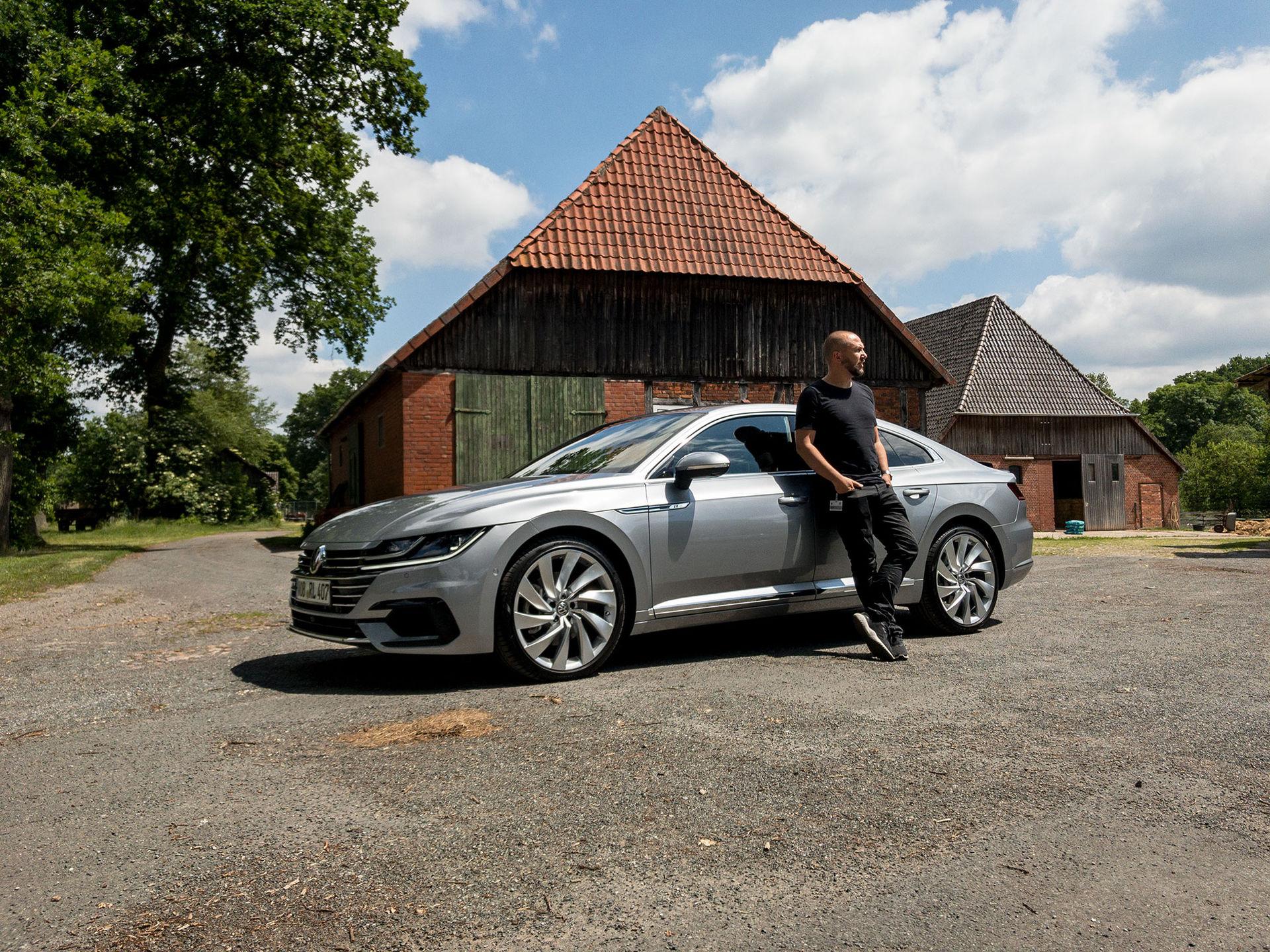 Vi har provkört Volkswagen Arteon