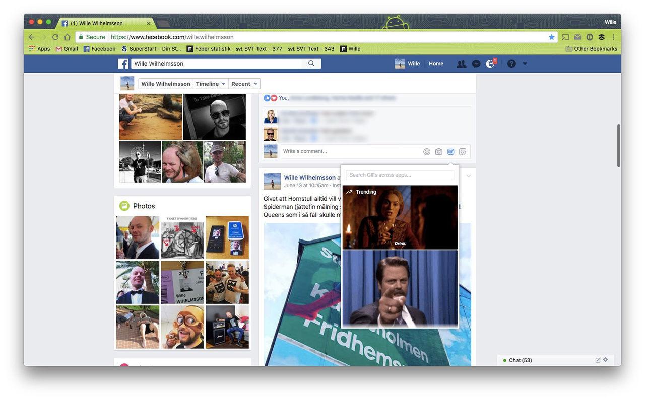 Nu kan man GIF-kommentera på Facebook