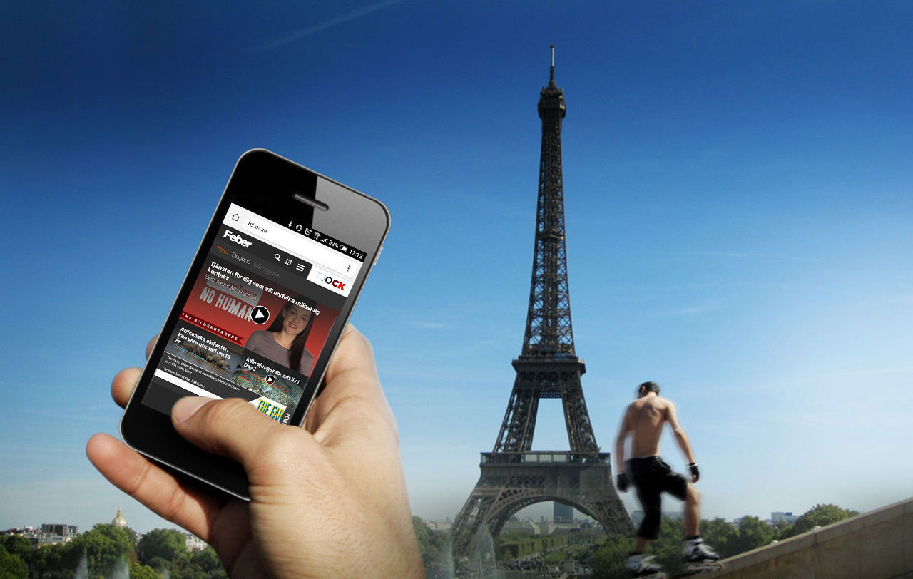 Idag är det roamingfritt inom EU!
