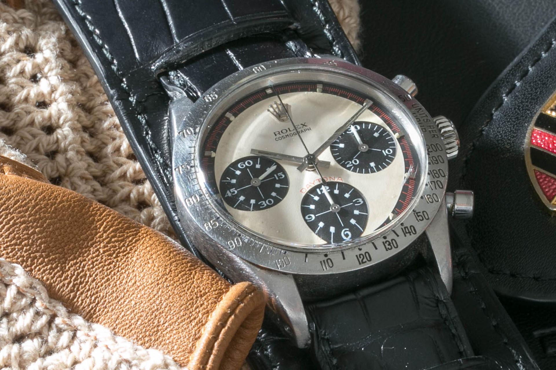 Paul Newmans Rolex Daytona snart på auktion
