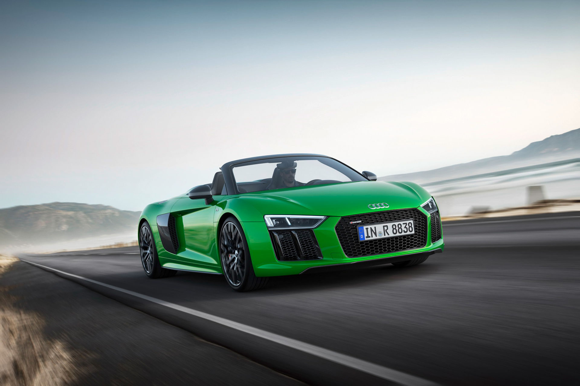 Audi R8 V10 Spyder får Plus-meny