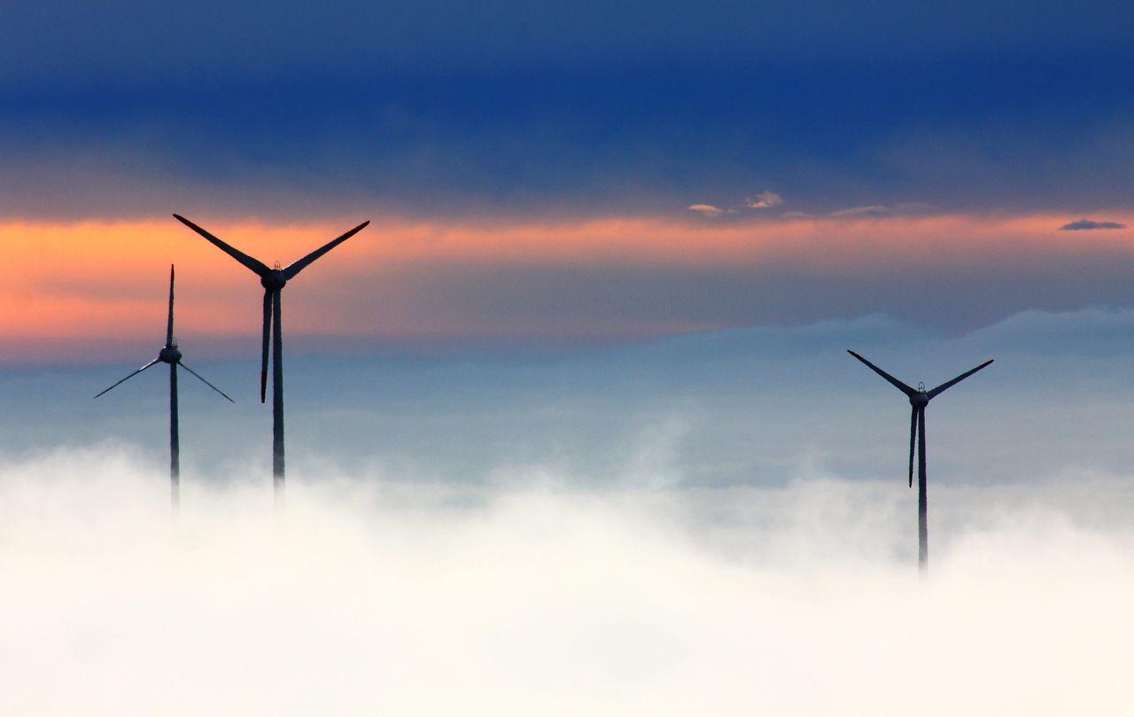 Vind och sol stod för tio procent av energin i USA i mars