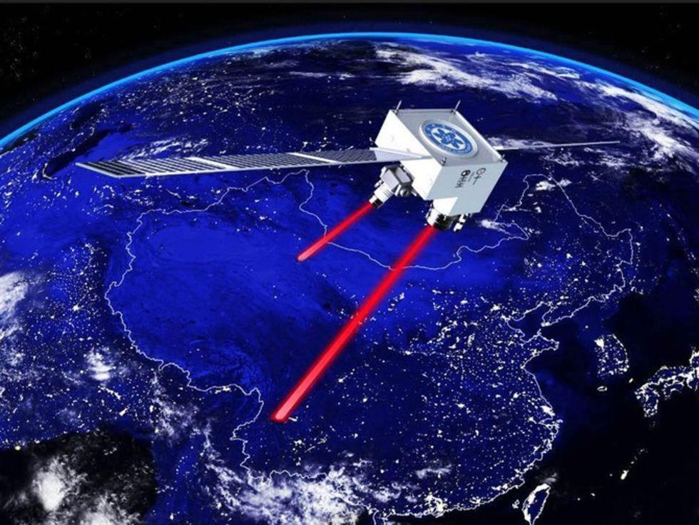 Kina skickar kvantkrypterad information via satellit