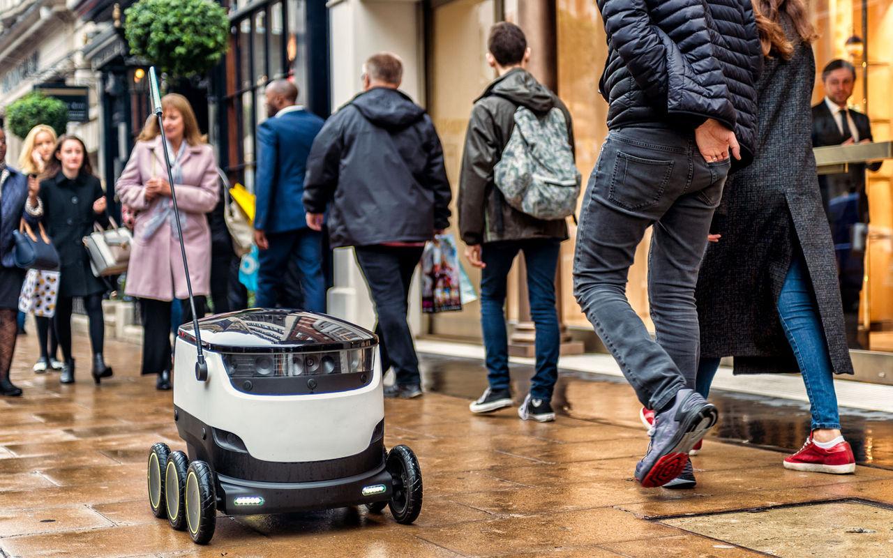 Estland först i EU att godkänna rullande leveransrobotar