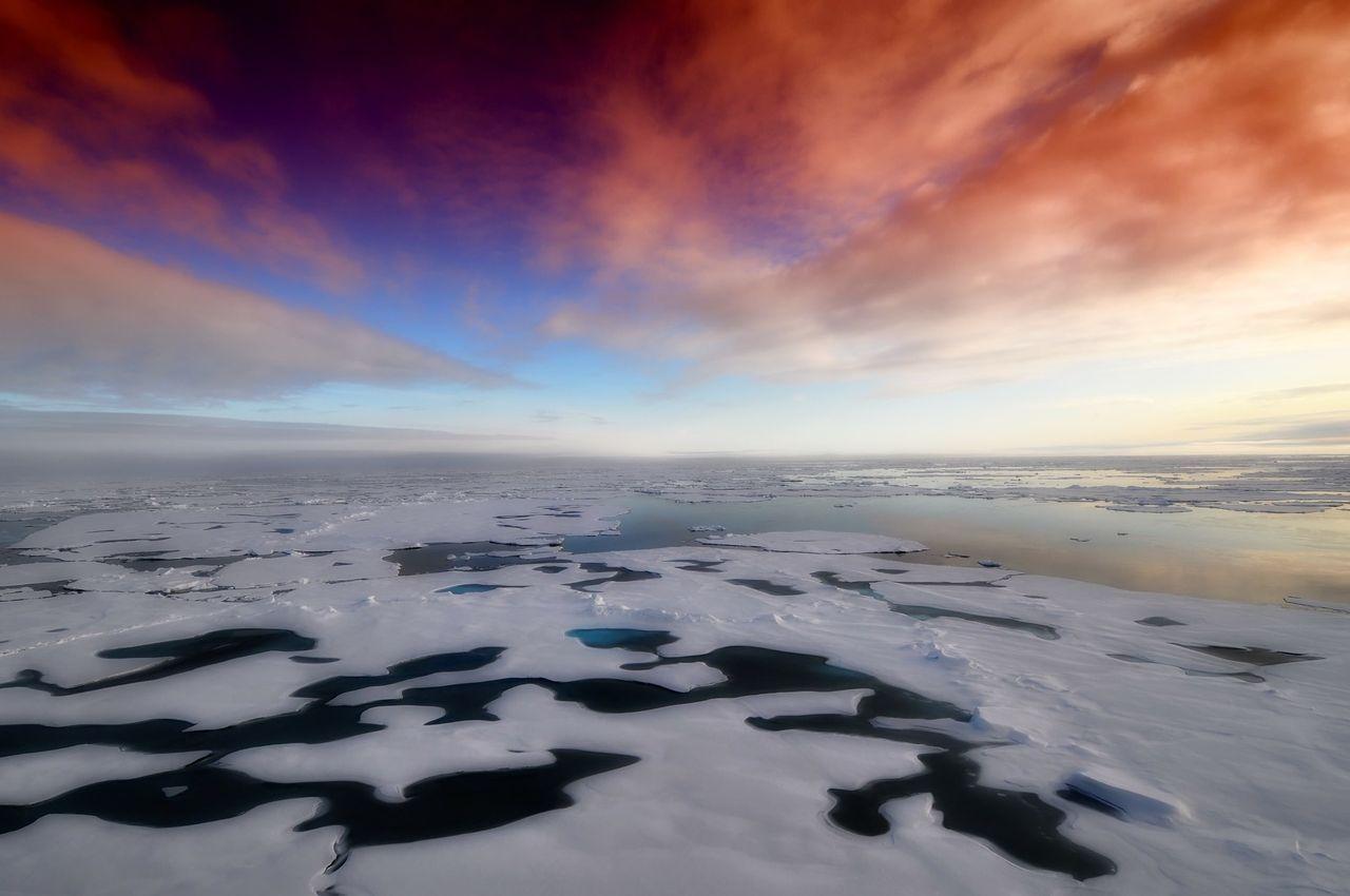 Antarktis drabbades av stora ytsmältningar förra året