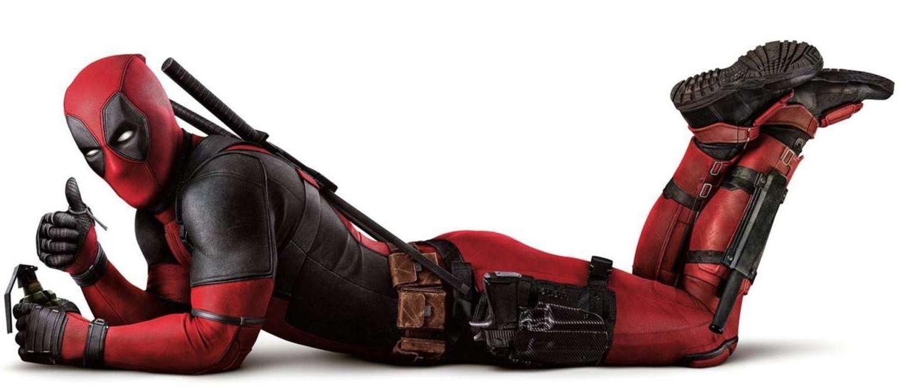 Ryan Reynolds delar bild från Deadpool 2-inspelning