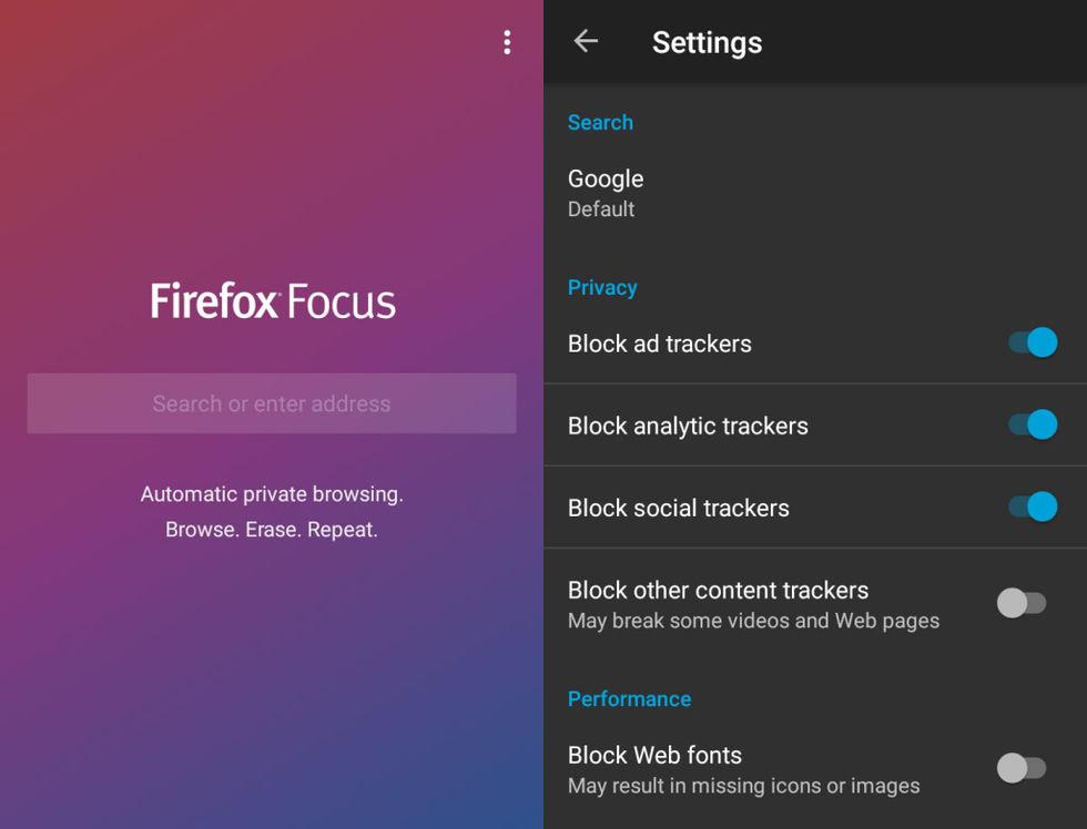 Nu släpps Firefox Focus till Android