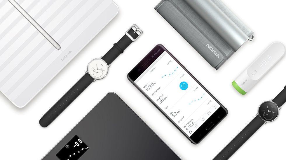 Nu heter Withings produkter Nokia