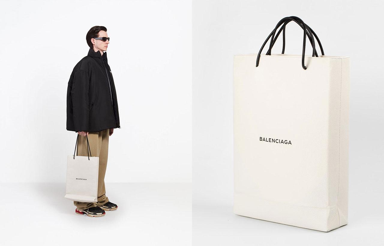 Nu kan du köpa Balenciagas Ikea inspirerade väska. Din för