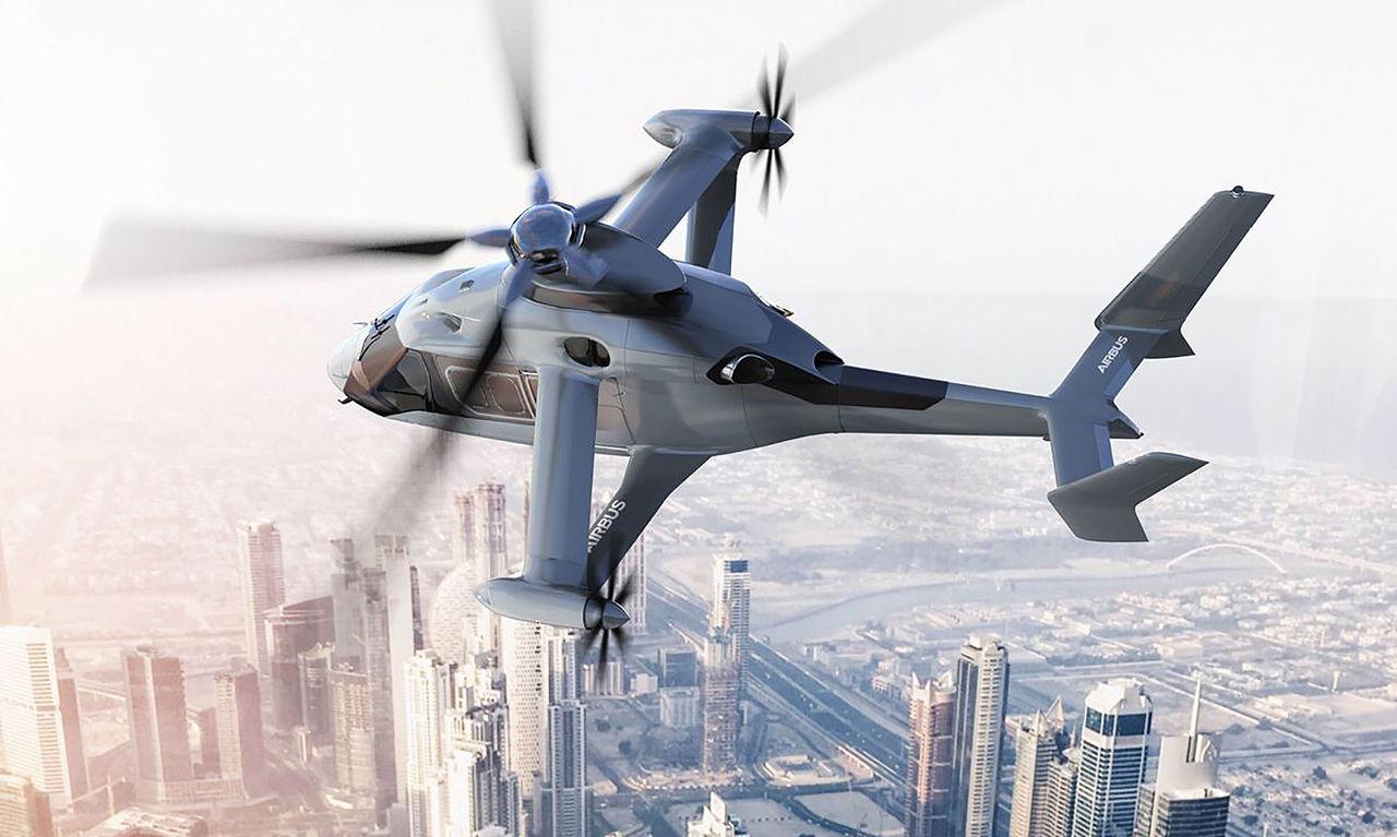 Airbus vill bygga vingförsedda helikoptrar