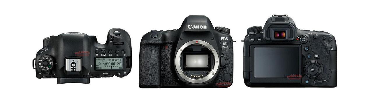 Bilder och specifikationer för Canon 6D II