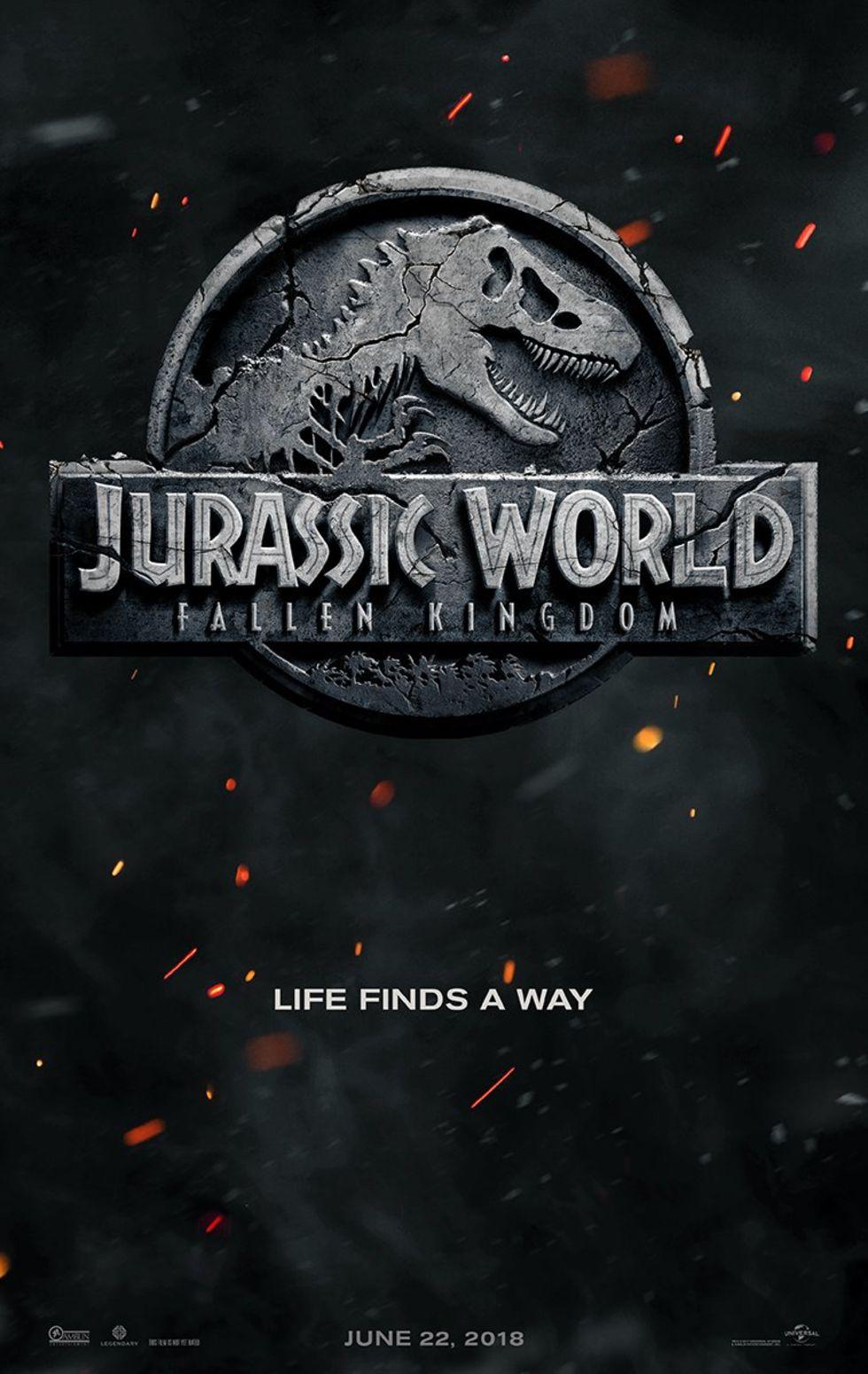 Jurassic World 2 får undertiteln Fallen Kingdom