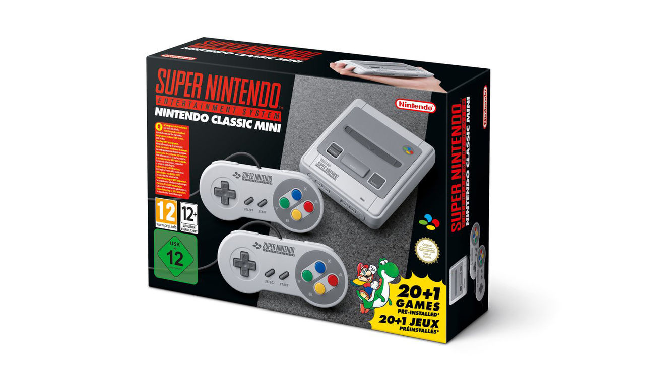 Nintendo bekräftar SNES Classic Mini