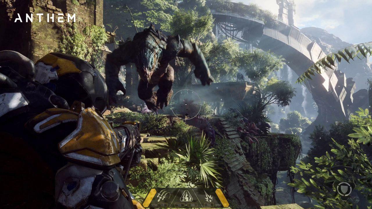 Anthem är ett science fantasy-spel