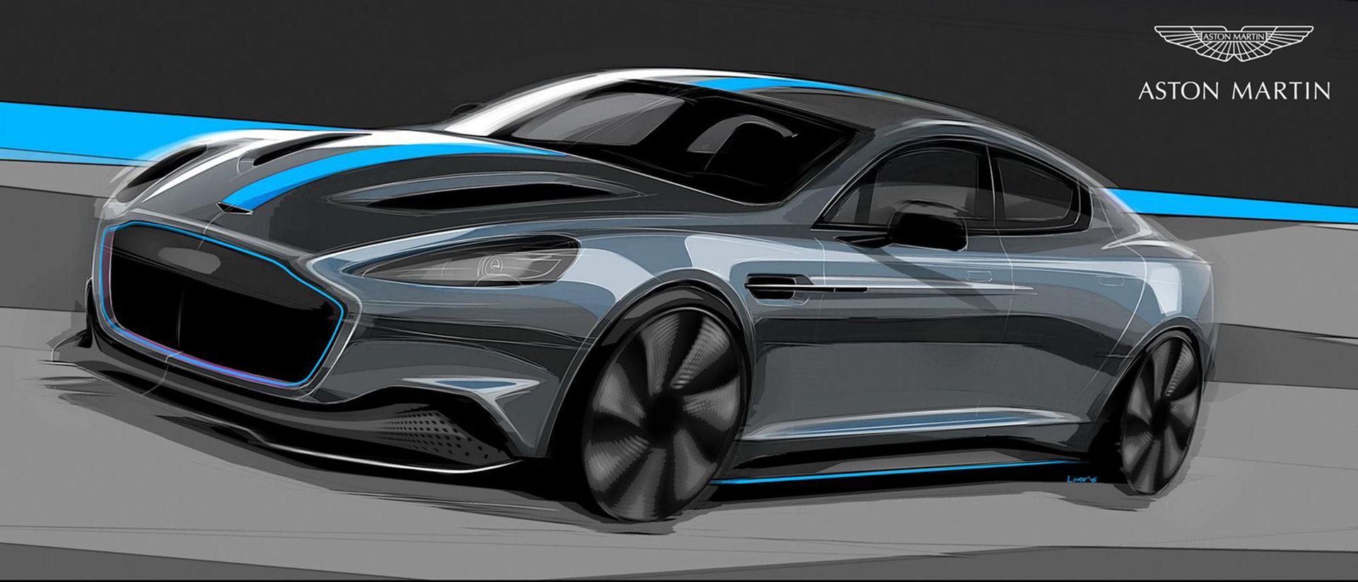 Eldrivna Aston Martin RapidE bekräftad för produktion