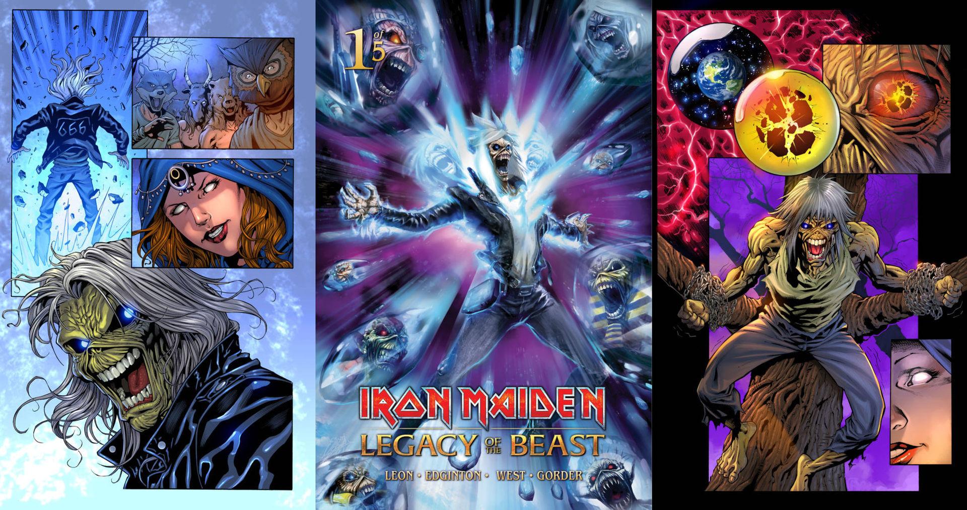 Eddie från Iron Maiden blir serie i tidning