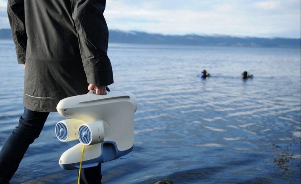 Blueye Pioneer är en robot för undervattensbruk