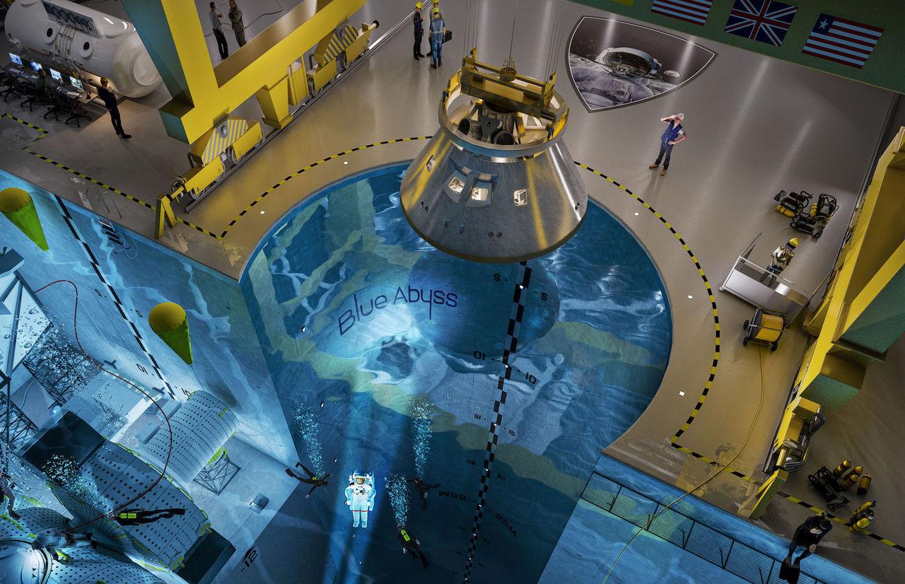 Blue Abyss blir första kommersiella träningsanläggningen för astronauter