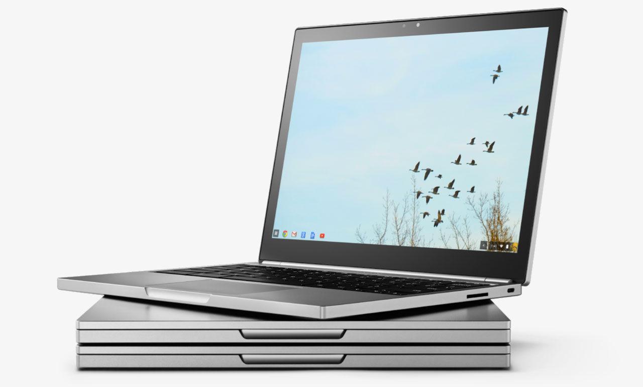 Google verkar jobba på Chromebook med Assistant-knapp
