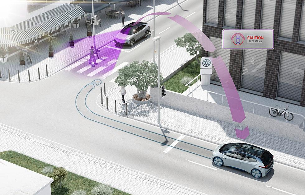 Volkswagens bilar ska börja prata med varandra