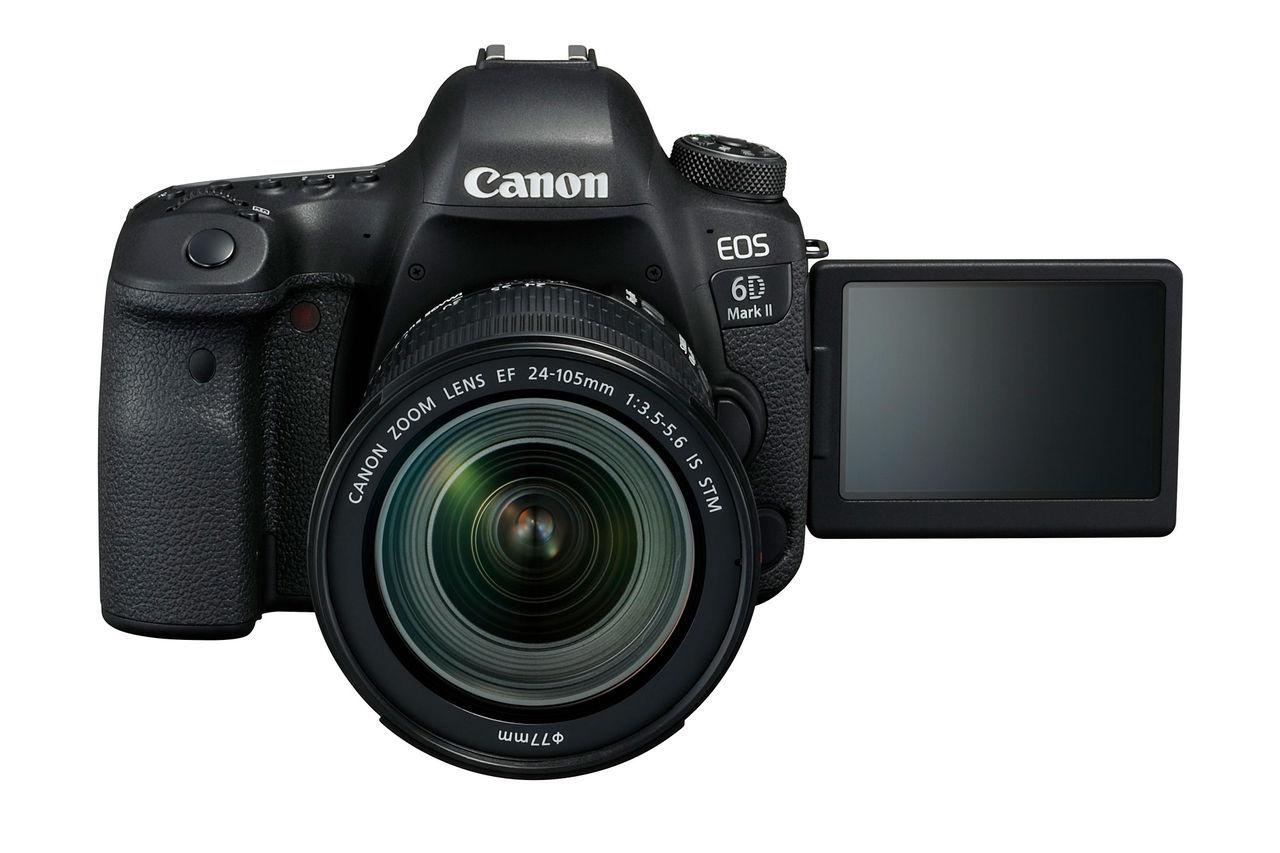Nu är Canon 6D Mark II offentliggjord