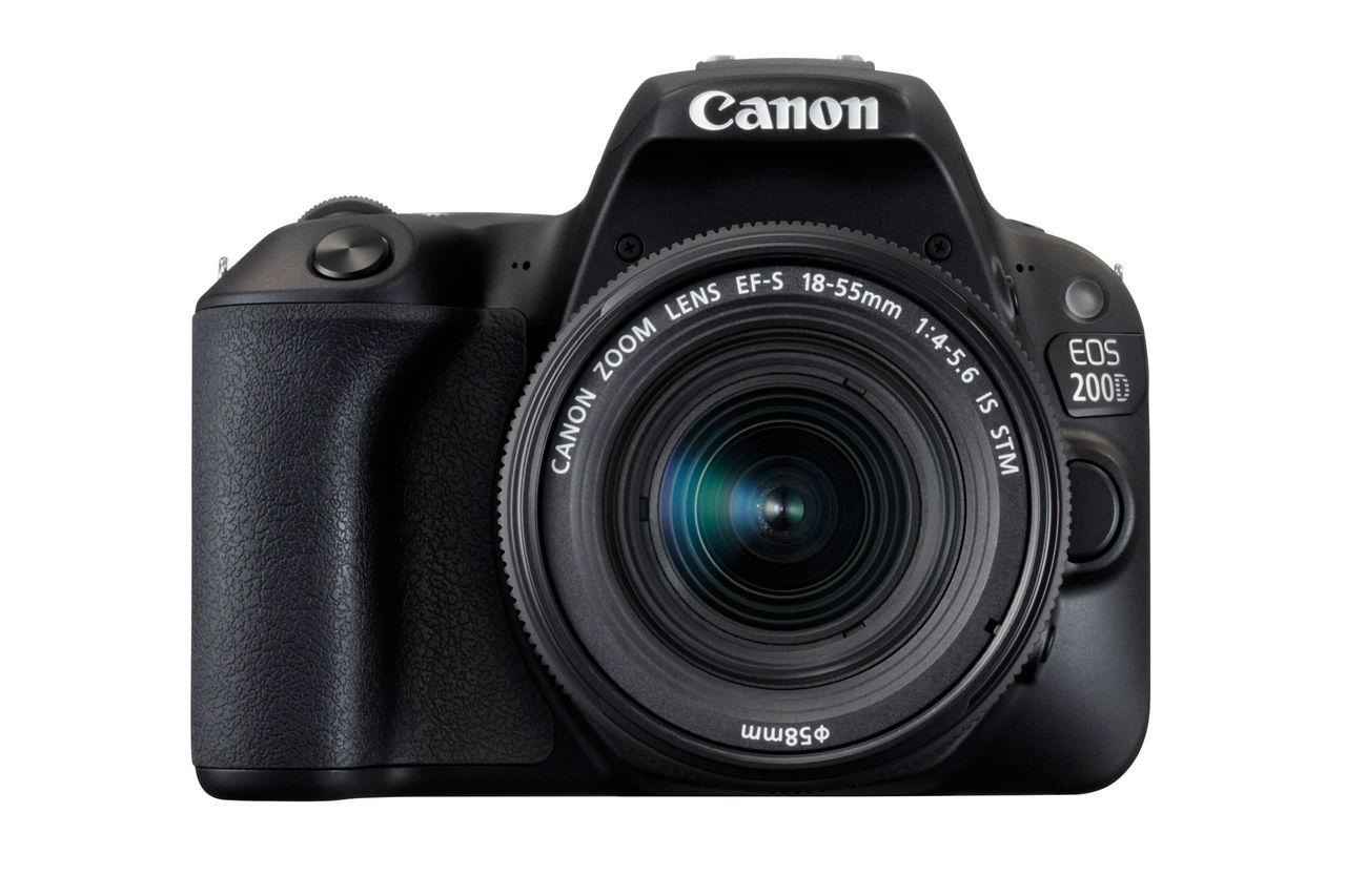 Canon visar nya instegskameran 200D