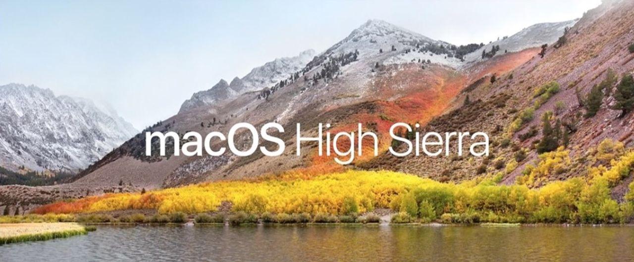 Betatesta MacOS High Sierra