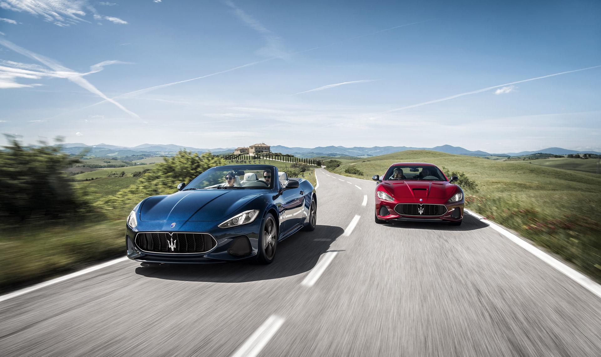 Maserati ger GranTurismo och GranCabrio ett litet lyft