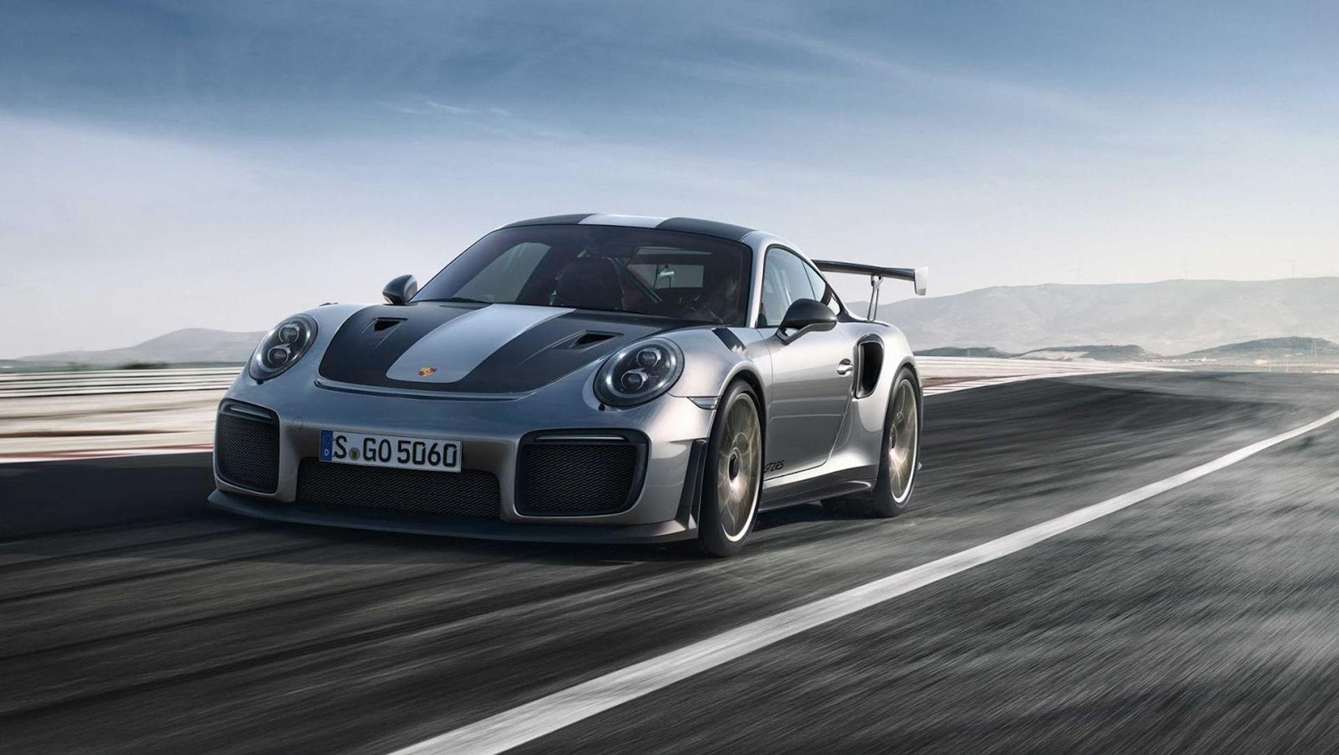 Bilder på nya Porsche 911 GT2 RS