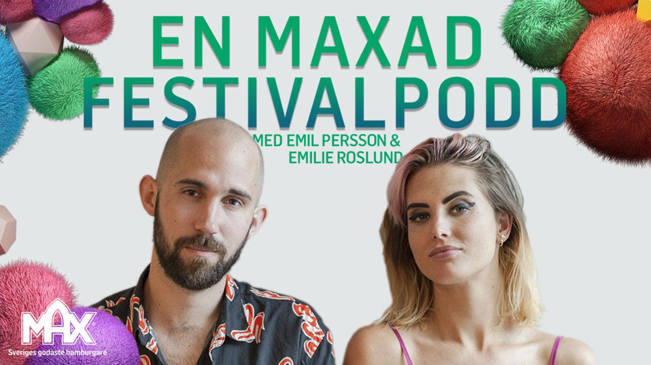 Max Hamburgare drar igång podcast