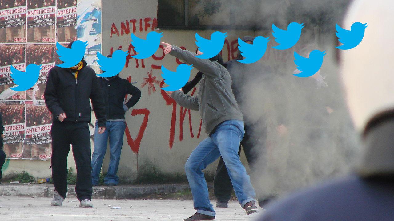 Twitter kan upptäcka upplopp före polisen gör det